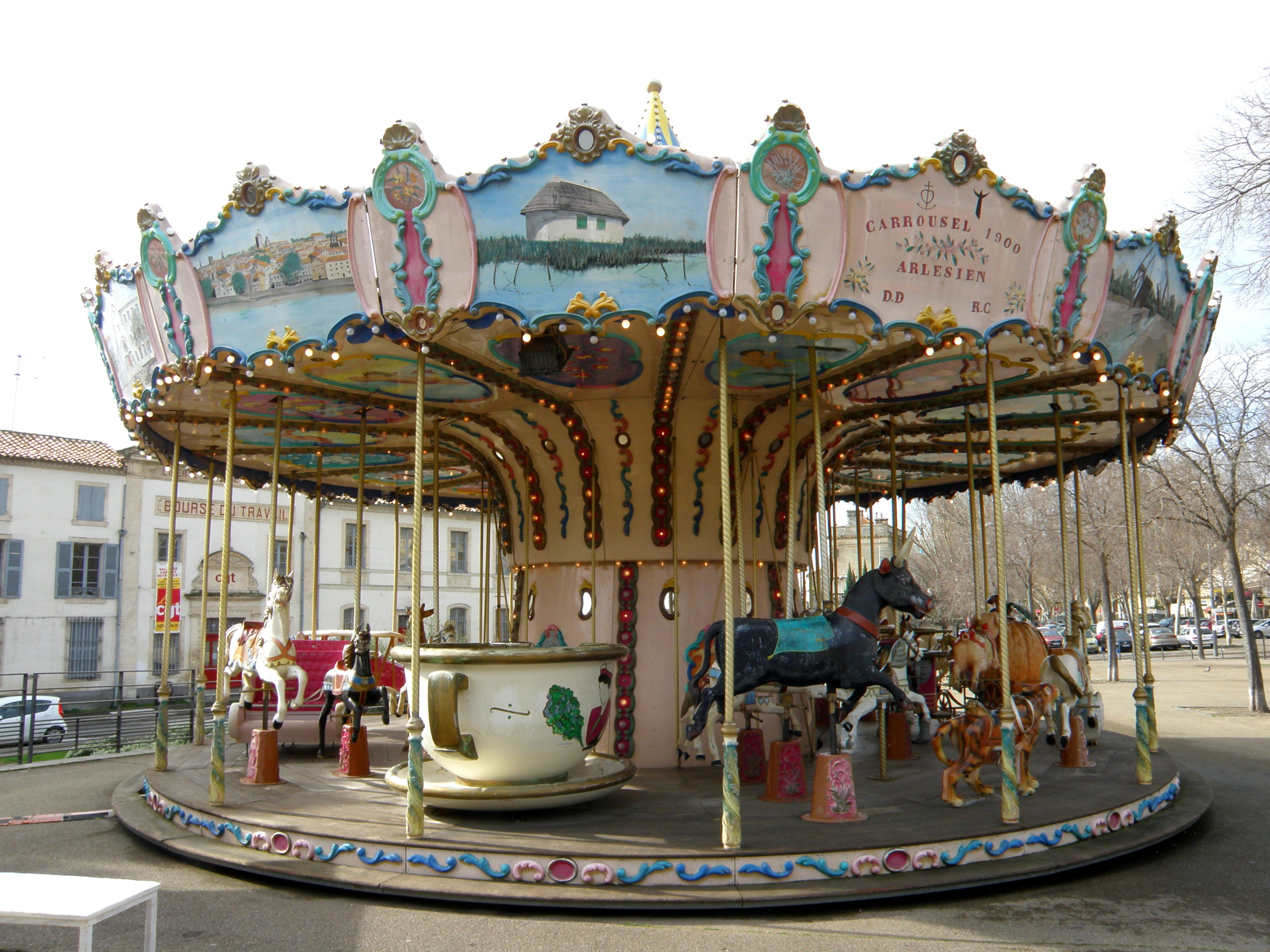 carousel arles france tour of provence