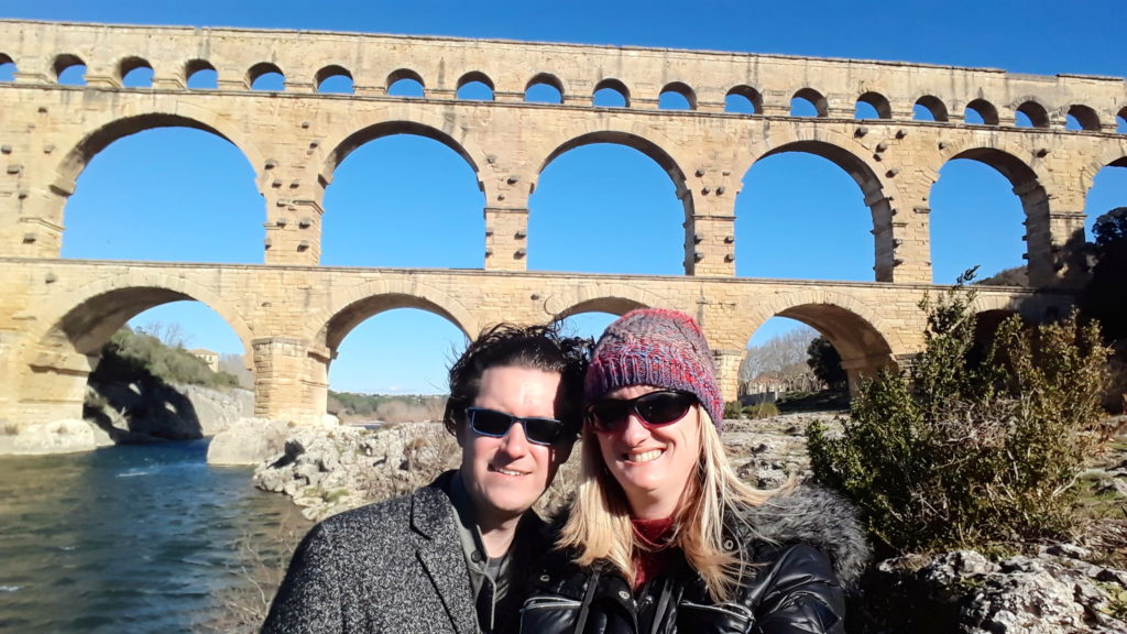 pont du gard bridge nimes france