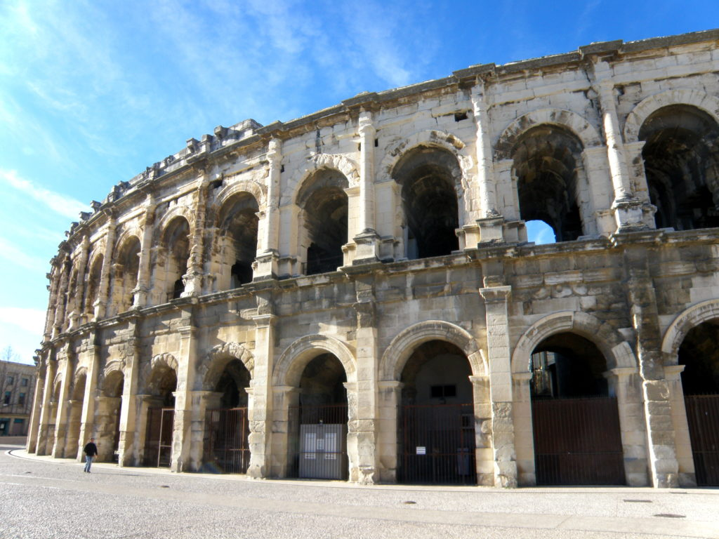 theater of nimes tour of provence
