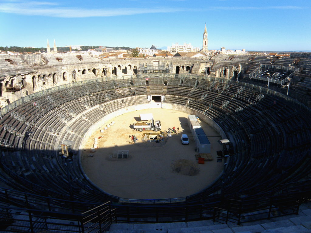 roman theater nimes tour of provence