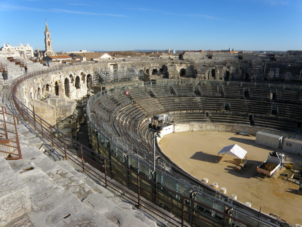 amphitheater tour of provence nimes